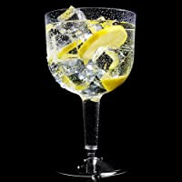 Large Plastic Gin Cocktail Glasses 26.2oz / 745ml - Set of 20 - Two Piece Disposable Glasses