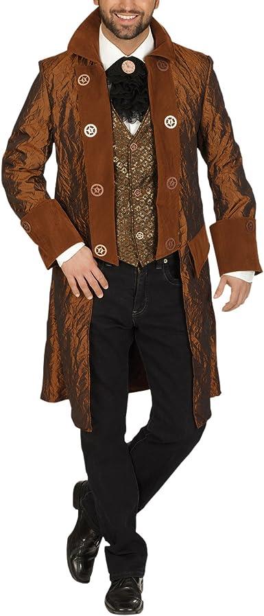 Levita steampunk - disfraz de hombre - 50/52: Amazon.es: Ropa y ...