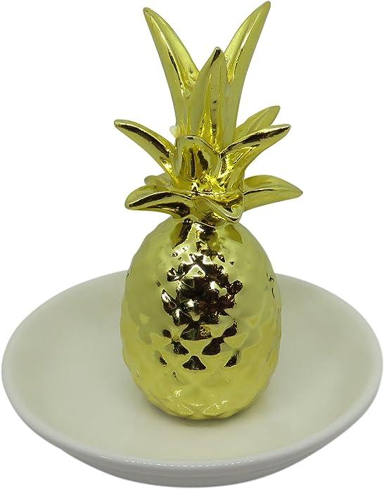 Ananas à thème Or ANANAS Boîte à l/'accueil chaleureux collection