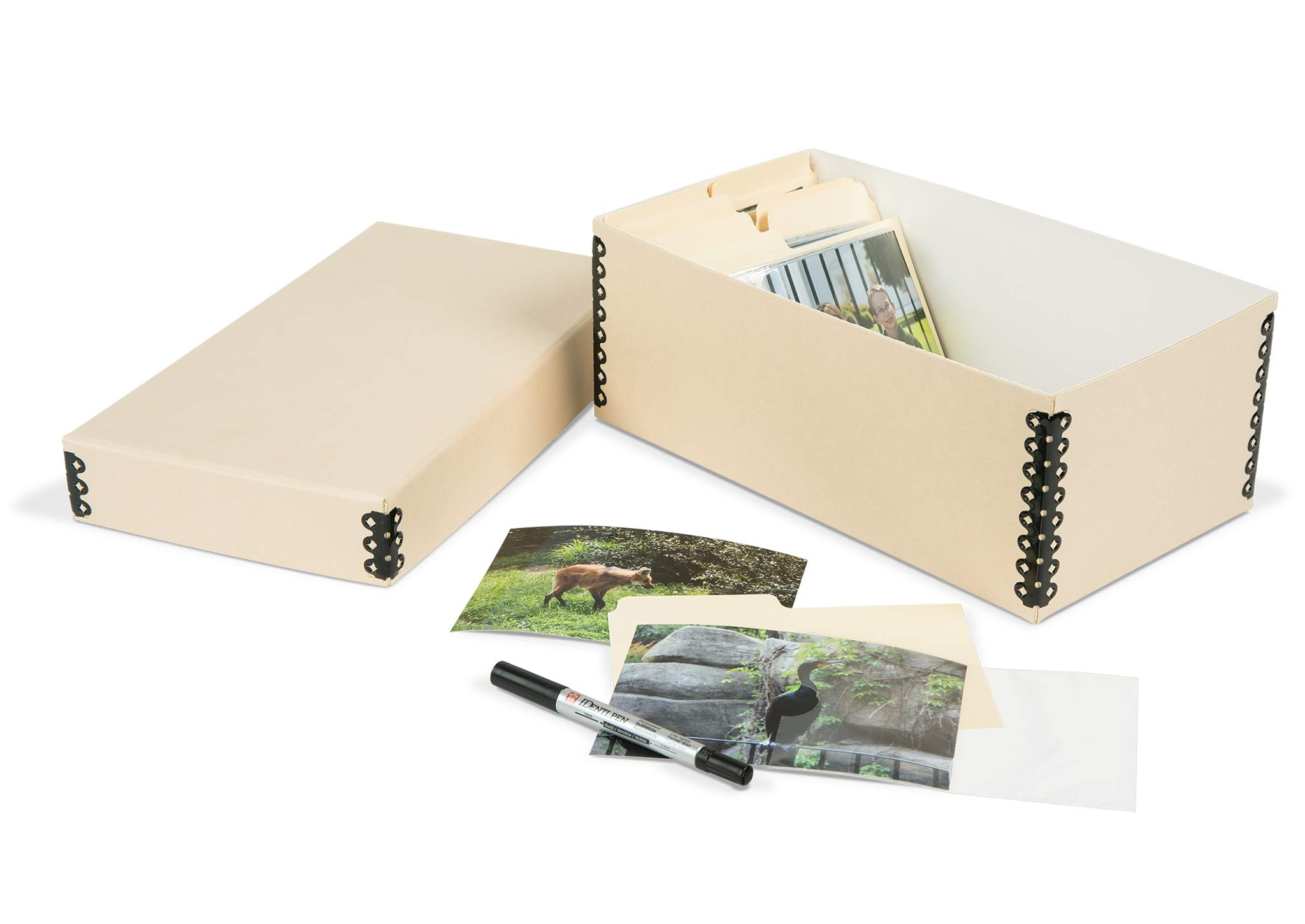 Gaylord Archival Shoebox-Style Photo Storage Kit by Gaylord Archival