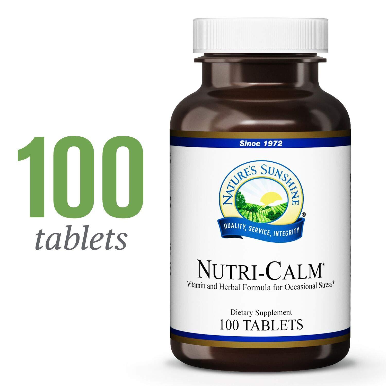 Amazon.com: Tabletas Natures Sunshine Nutri-Calm, contiene ...