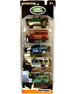 Amazon the land rover story story series 8601300453934 matchbox land rover 5 pack fandeluxe Image collections