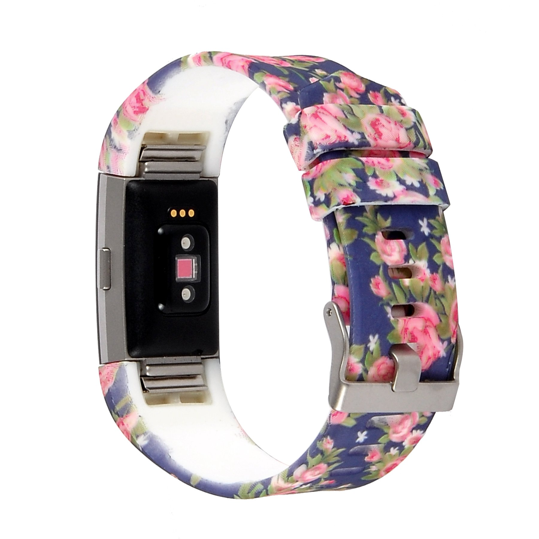 Floral Bands: CLASSIC FLORAL 3PK Large Wristband Band Strap Bracelet For