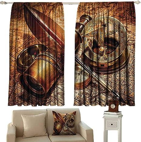 Dabuniu Cortina de Puerta corredera, decoración Antigua, Antigua ...