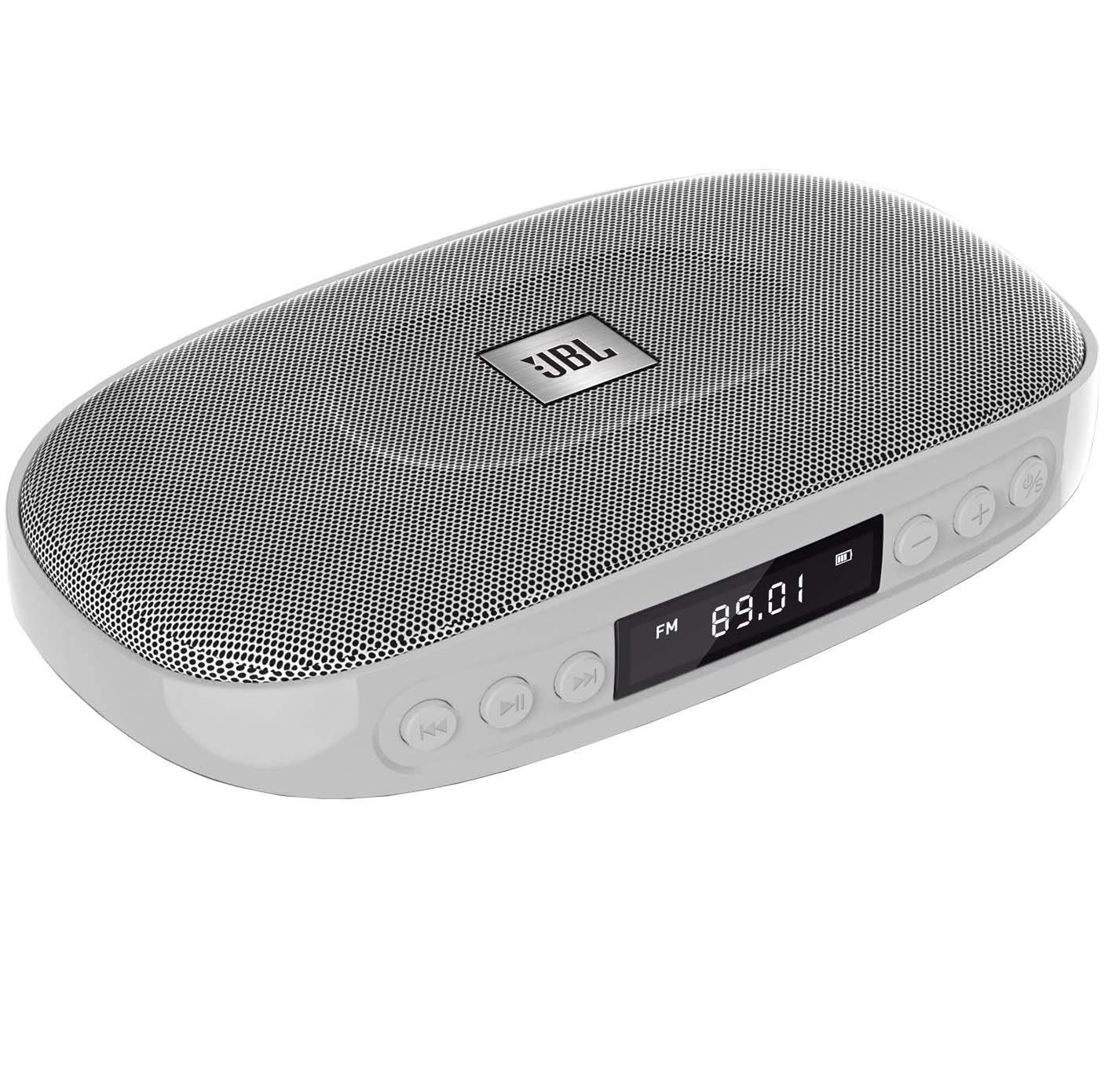 (Renewed) JBL Tune Wireless Bluetooth Speaker with SD Card reader  (JBLTUNESILVER, Silver)