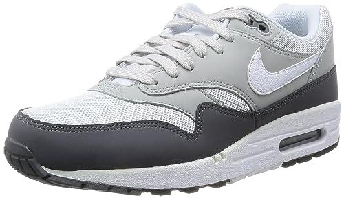 reputable site 7cc74 11f1a Nike Air MAX 1 Essential, Grey, Zapatillas de Estar por casa para Hombre   Nike  Amazon.es  Deportes y aire libre