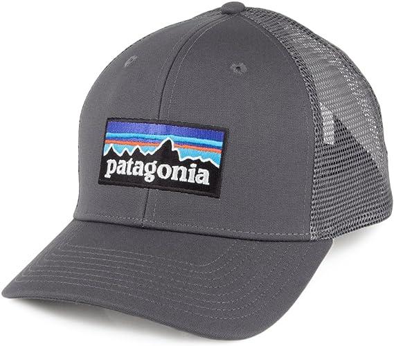 Patagonia Gorra Trucker de algodón orgánico Gris - Ajustable ...