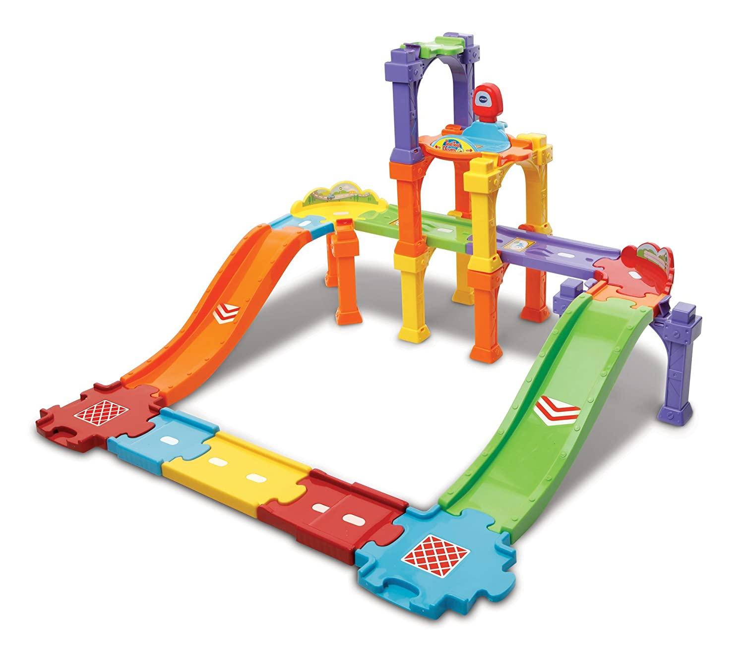 VTech Baby Toot-Toot Drivers Ultimate Track Set Toy Play Set Multi Coloured