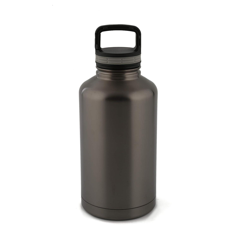 1 Cambridge Silversmiths 9380BGTR 64-Ounce Brushed Black Nickel All Purpose Bottle Beer Growler