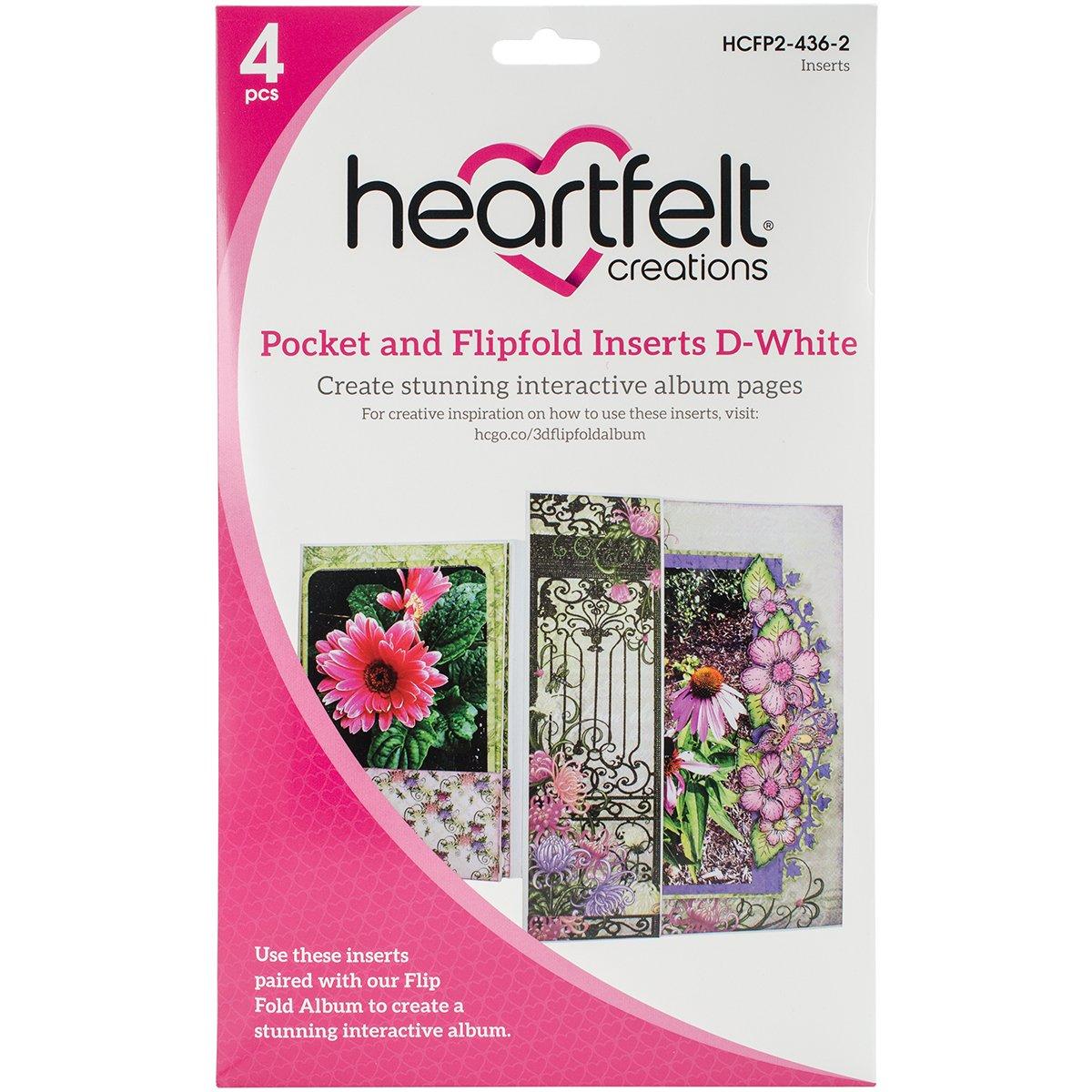 Mehrfarbig Heartfelt Creations Eins/ätze f/ür Taschen und Flip 26,72 x 20,24 x 1,21 cm