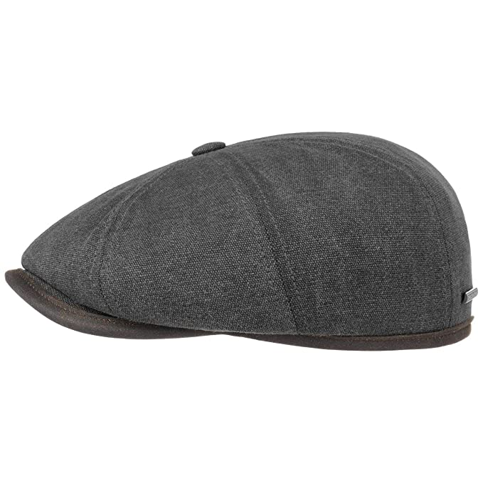 Stetson Gorra Hatteras Canvas Piping Hombre - Newsboy de con ...