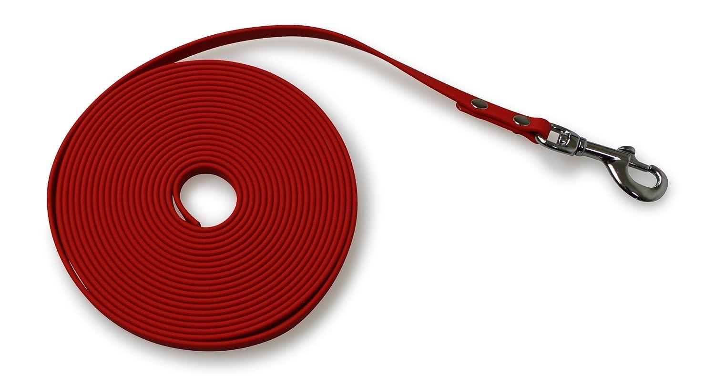 Bio-leine Laisse en biothane 9mm, 13mm, 16mm & 19mm; 5m & 10m de long–en 6couleurs 13mm 4PFOTENland