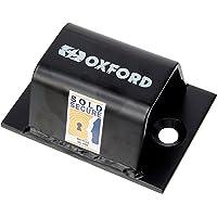 Oxford 10 High Security - Cierre de Cadena para Bicicletas, Color Plateado