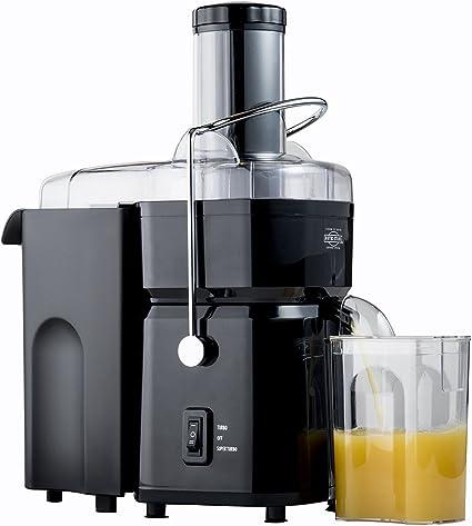 Nutri-Stahl 700 W exprimidor máquina – 2.8 pulgadas de ancho ...