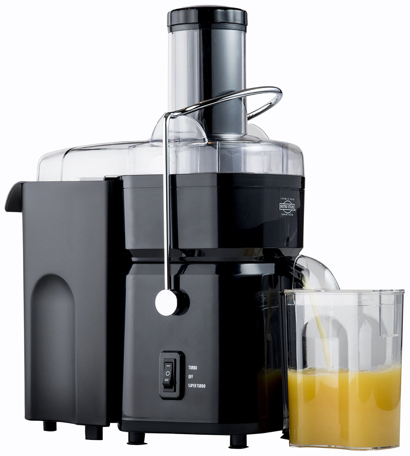 Nutri-Stahl Juicer Machine - 700W Fruit and Vegetable Extractor NJ-9300LI