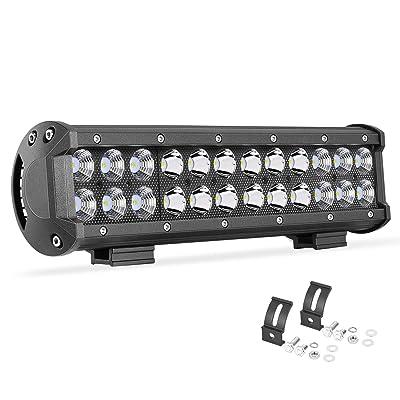 LED light bar, OFFROADTOWN 12inch LED Driving Light 72W LED Pods Off Road LED Work Light CREE LED Fog Lights for Truck Jeep ATV UTV SUV Boat: Automotive