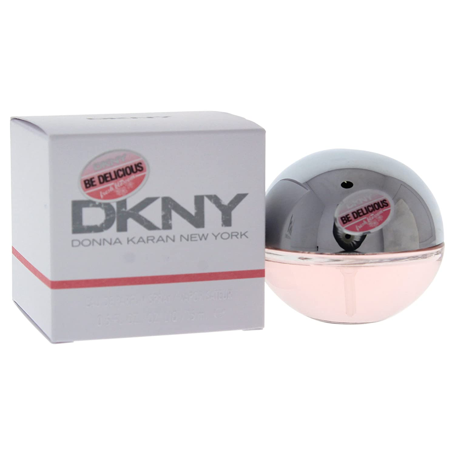 Donna Karan DKNY Be Delicious Eau de Parfum Spray for Women, Fresh Blossom, 0.5 Ounce
