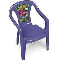 Trolls ARDITEX TL11355 Chaise Monoblock en Plastique sous Licence Les Plastique Mauve 36, 5 x 30 x 50 cm