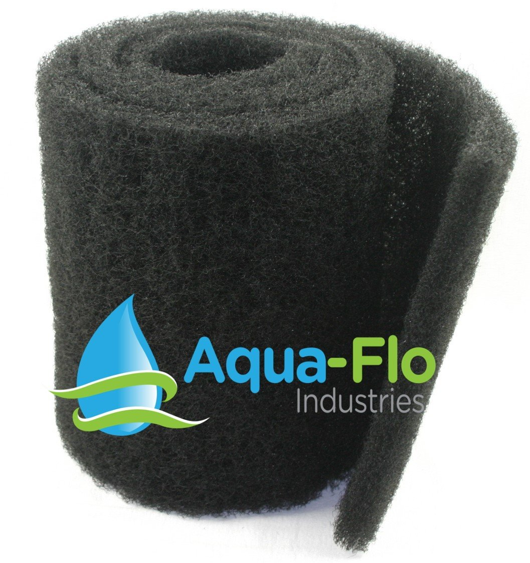 12''x 60''x 1.25'' Aqua-Flo Coarse Black Universal Pond Filter Mat by Aqua Flo