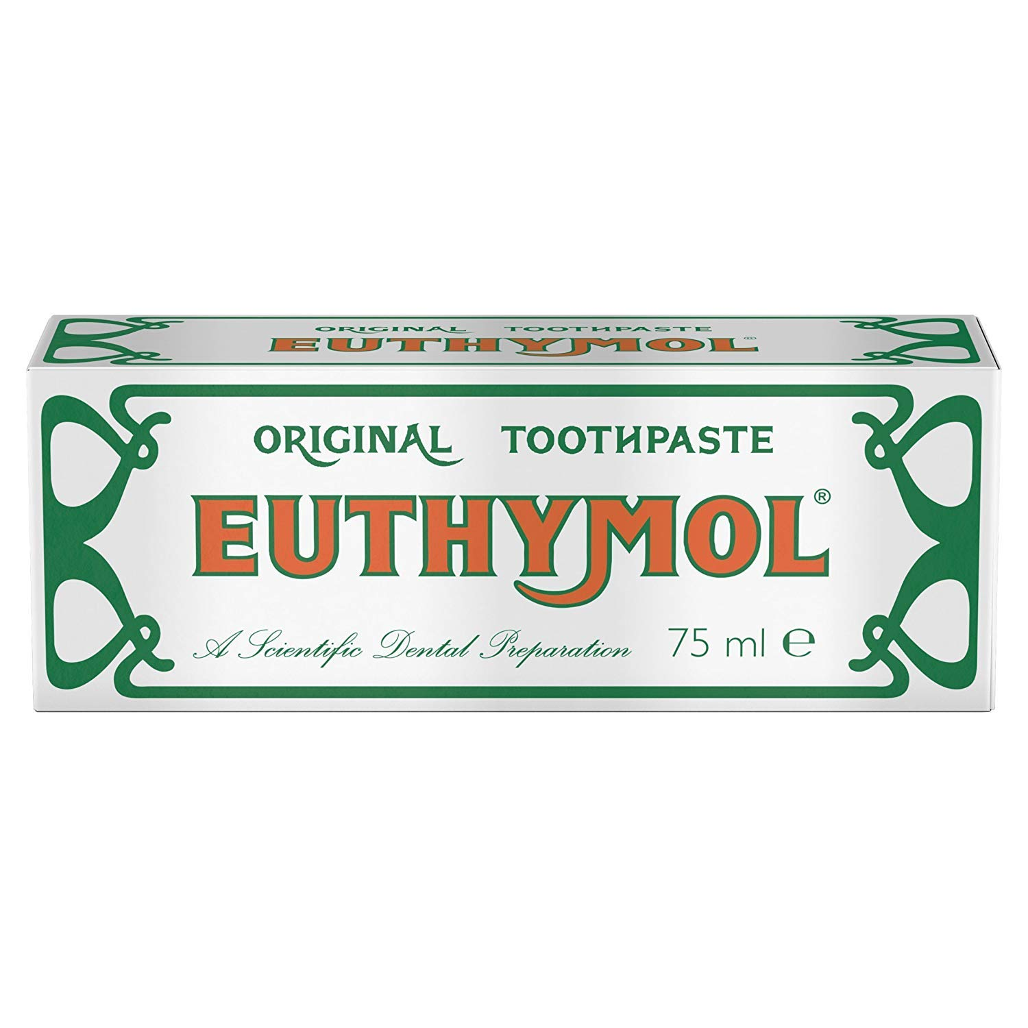 Euthymol Original Toothpaste Tube (75ml) - Pack of 2 by Euthymol