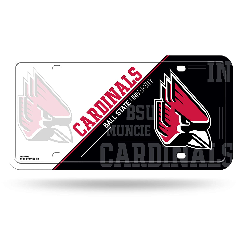 NCAA Metal License Plate Tag