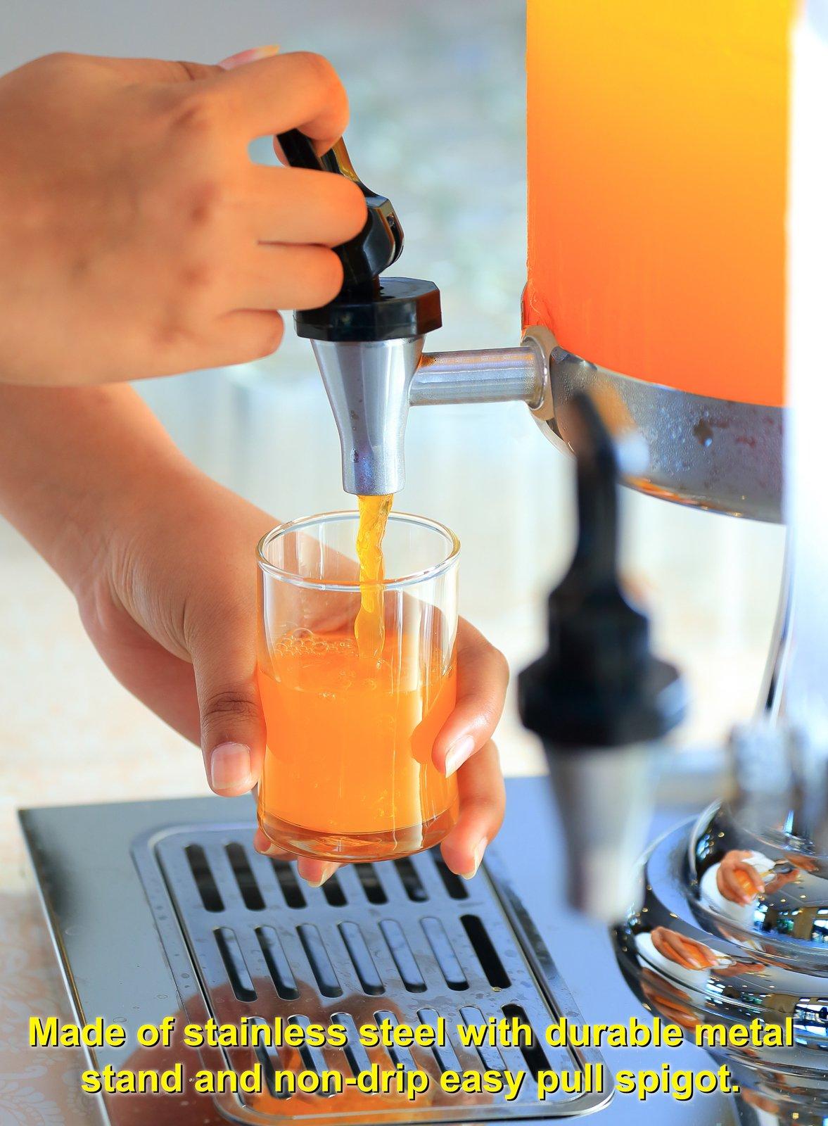 Estilo Heavy Duty Stainless Steel Drink Dispenser, 8L by Estilo (Image #5)