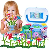 BIRANCO. Flower Garden Building Set - Grow up! Fun Stacking Toys for Toddlers and Kids Age 3-6 Year Olds, Educational…