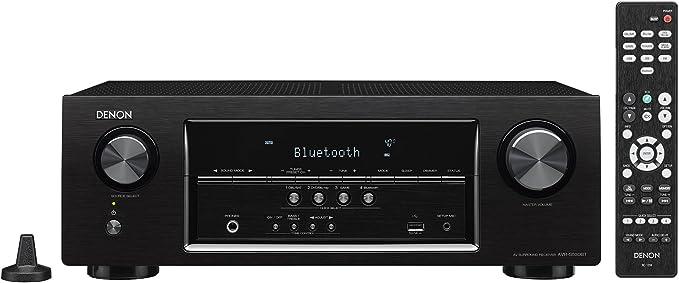 Denon AVRS530BT 5.2 Channel Full 4K Ultra HD AV Receiver (Discontinued by Manufacturer)