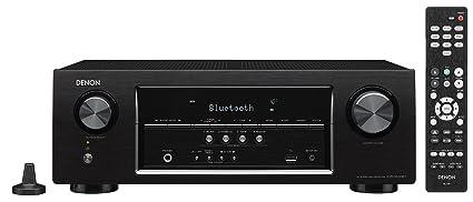 Denon Audio & Video Component Receiver Black (AVRS530BT)