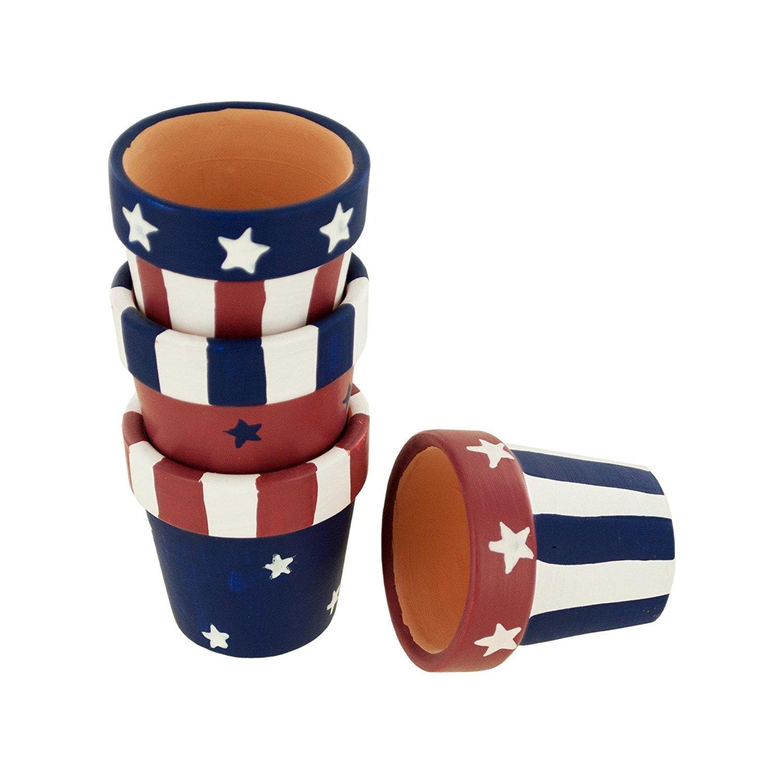 Americanaテラコッタナプキンリングセット  8 Rings B071D9D5ZQ