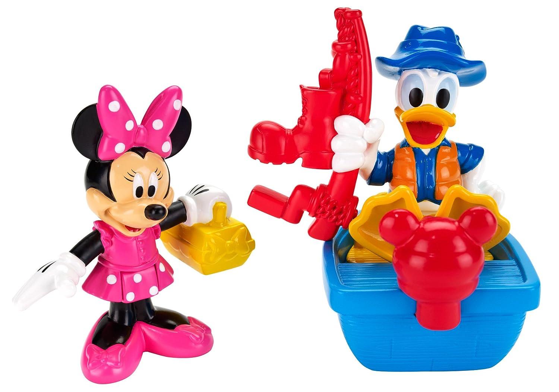Amazon.com: Fisher-Price Disney Mickey Mouse Clubhouse Minnie ...