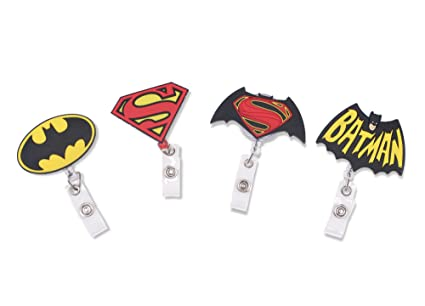 amazon com finex superheroes batman and superman logo set of 4
