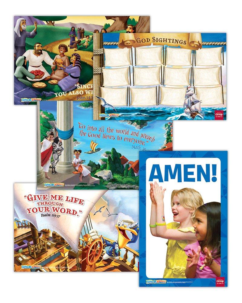 Hands-On Worship Poster Pack, Spring: Set of 5 pdf epub