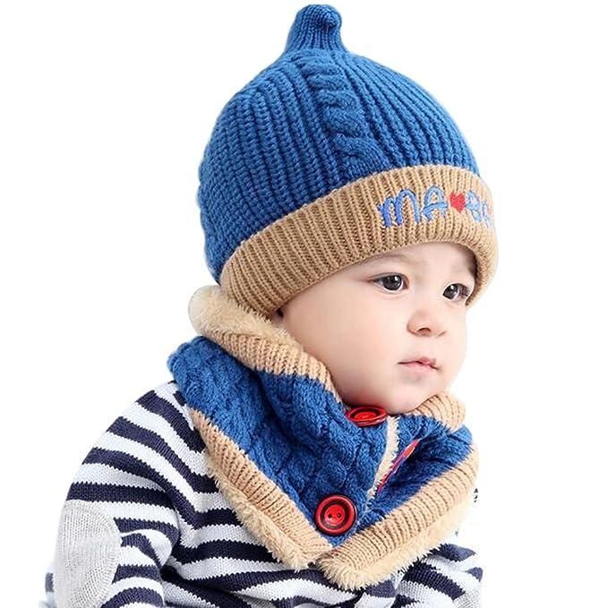 Kragen Frauen Männer Caps Kaufen Sie Immer Gut Babykleidung Jungen Winter Baby Hut Set Plüsch Warme Baby Mütze Schal Infant Hut Baby Hüte Für Jungen Mädchen Kinder Kappe Schal