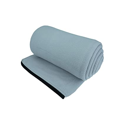 a7892f65a0 Osage River Gear Microfiber Fleece Zippered Sleeping Bag Liner with Carry  Storage Bag (Grey Fleece