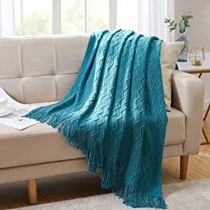 Home Soft Sofa Cover Blanket Knitted Cotton Wool Blankets Throws 11Solid Colors