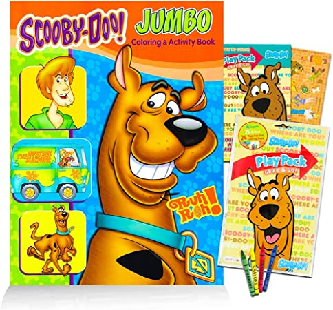 Amazon Com Scooby Doo Coloring Book Set 2 Coloring Books Toys Games