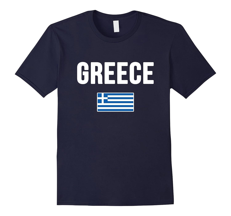 Greece T Shirt Greek flag tee
