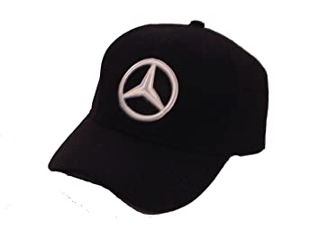 Image Unavailable. Image not available for. Color  Mercedes Benz Black  Baseball Cap Hat. 11dbf0ebce5