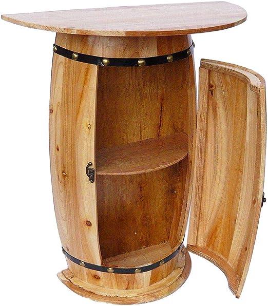 Marlow – Mueble aparador con Vino de Mesa Barril 0373 Armario ...