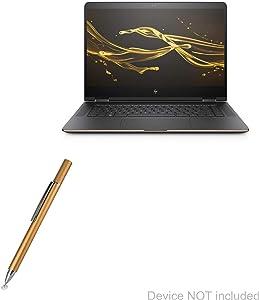 HP Spectre X360 Stylus Pen, BoxWave [FineTouch Capacitive Stylus] Super Precise Stylus Pen for HP Spectre X360 - Champagne Gold