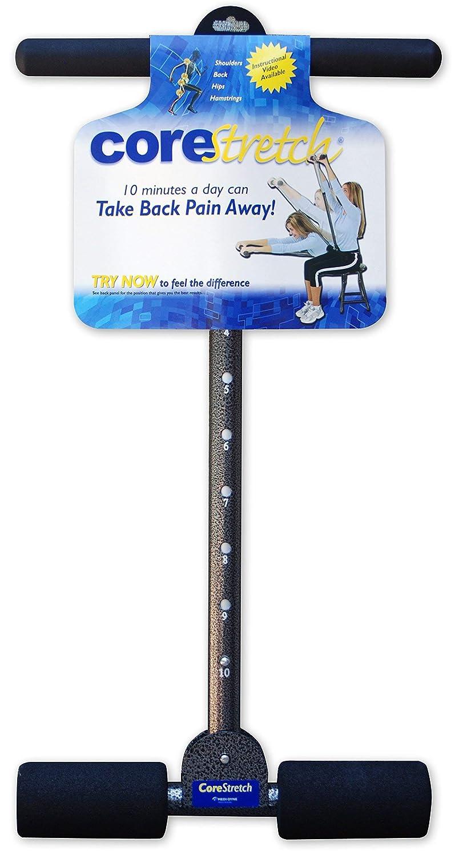 CoreStretch - Adjustable Back, Shoulder & Hamstring Stretcher - Includes Coaching Guide