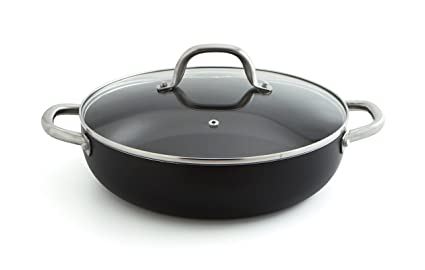 Quid Pro Chef - Tartera de acero inox con tapa, 28 cm, horno ...