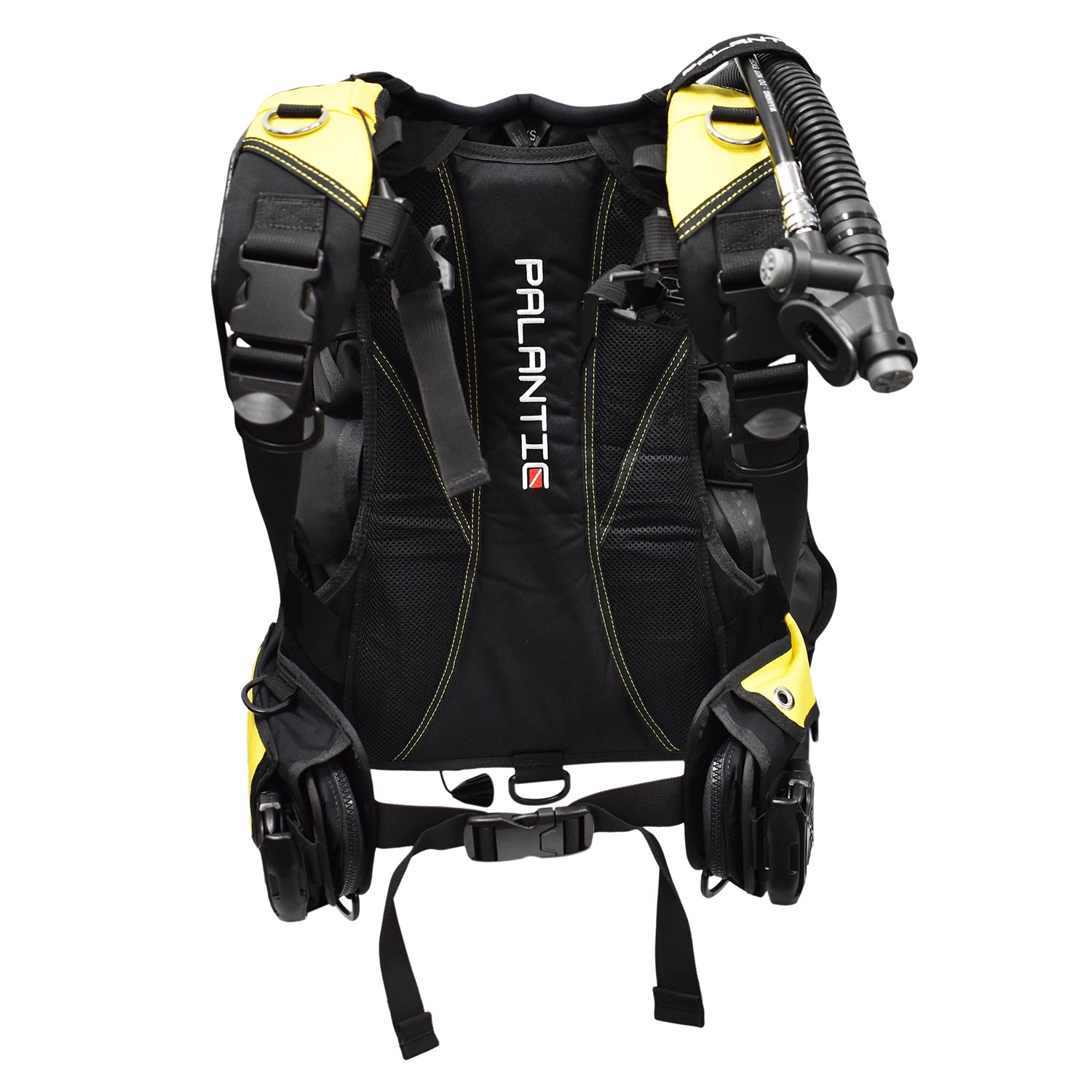Palantic Traveler Scuba Choice Traveler Travel BCD, Yellow, Medium/Large by Palantic