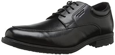 Rockport Men's Essential Details Ii Apron Toe Waterproof Oxford Men's Shoes