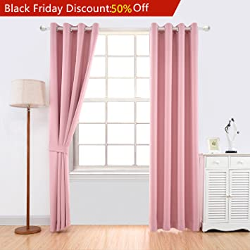 Amazon.com: YOJA Thermal Insulated Window Treatment Blackout ...