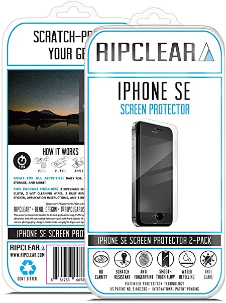 Ripclear iPhone SE Smartphone Screen Protector Kit: Amazon.es: Electrónica