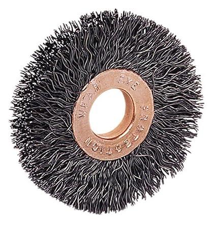 Amazon.com: Weiler - Cepillo para rueda de alambre de acero ...