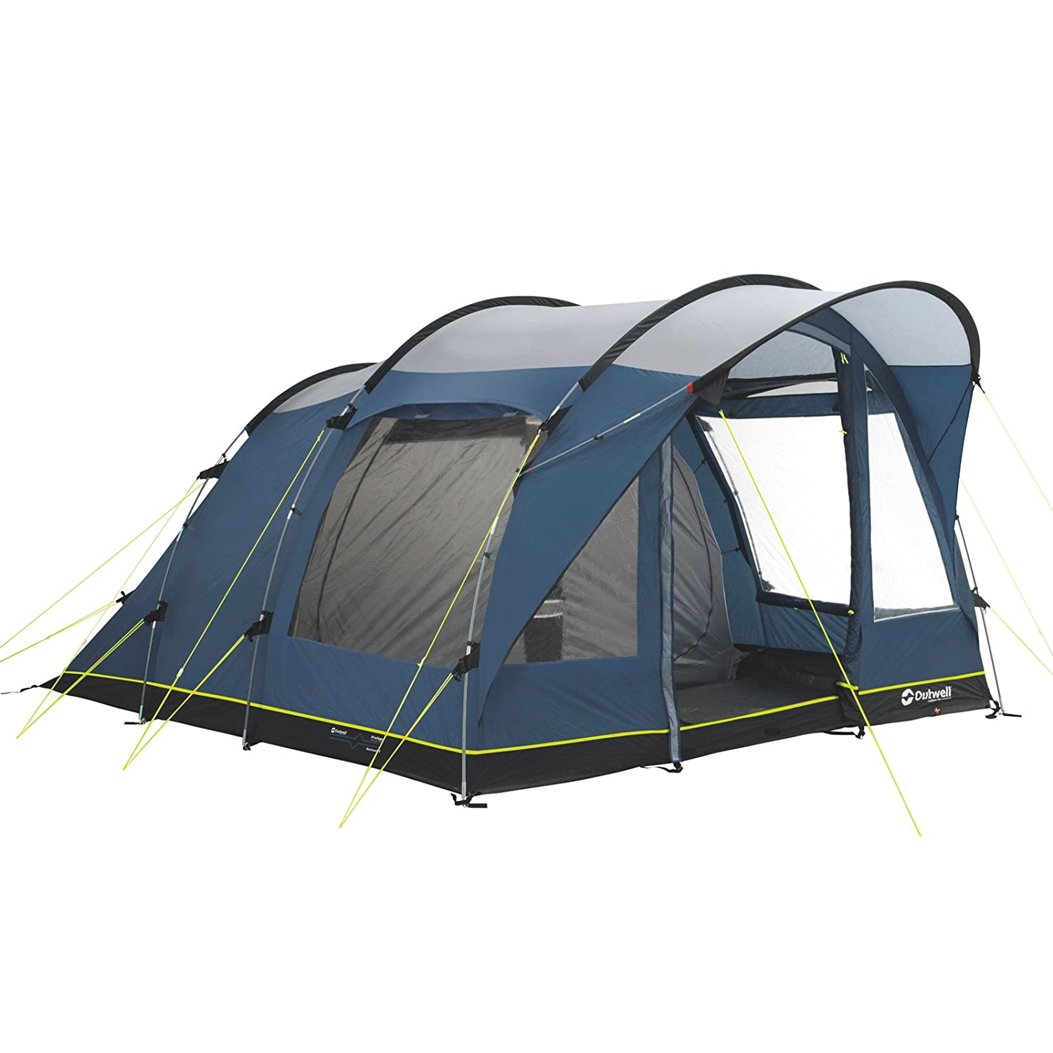 Outwell Rockwell 5 family tent grey/blue 2016 camp tent