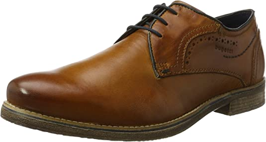 bugatti 312299013500, Zapatos de Cordones Derby para Hombre